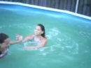 Alexis and Aeron_ Pool Fight