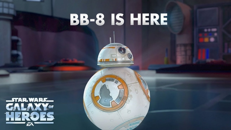Star Wars Galaxy of Heroes - BB-8 Trailer