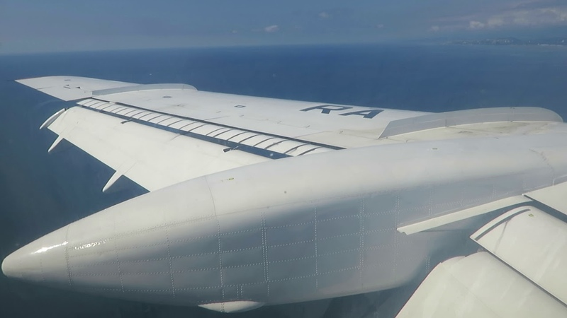 RA-85757 Tu 154M Landing at AER 29 09 18