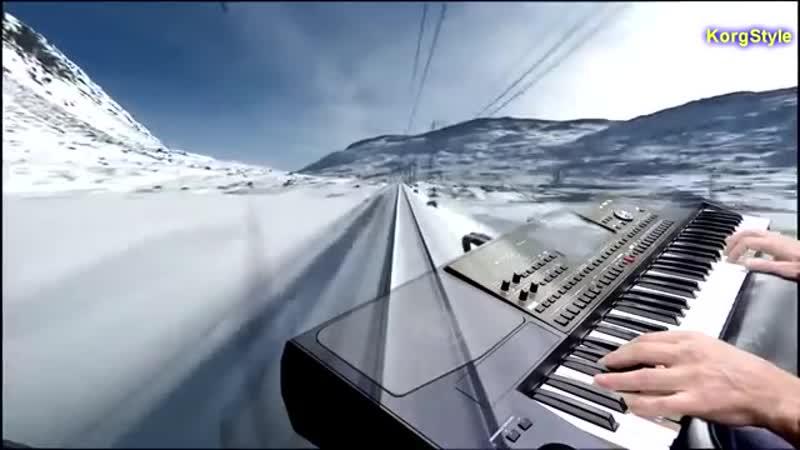 [v-s.mobi]Modern Martina KorgStyle - Snow Falls (Korg Pa 700 ) Dance Bass Remix 2018 New