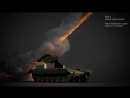 3ds max. FumeFX, AE. TOS-1 Multiple rocket launcher
