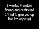 Muse - Time Is Running out - lyrics