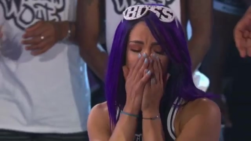 SB_Group| Sasha Banks and Nick Cannon competing in «Talking Spit» Part 1 | «Wild 'N Out»