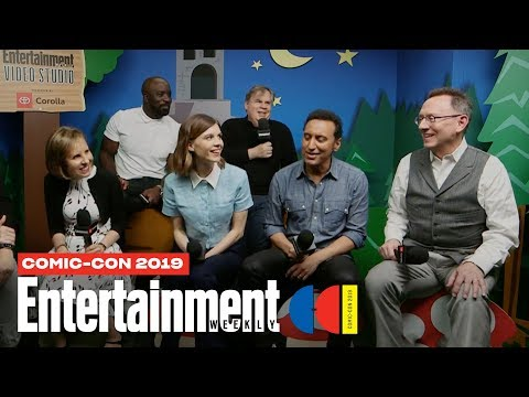 'Evil' Stars Mike Colter, Katja Herbers Cast Join Us LIVE | SDCC 2019 | Entertainment Weekly
