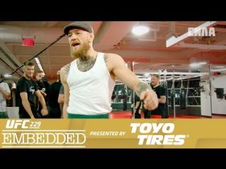 UFC 229 Embedded Vlog Series - Episode 1