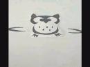Совушка покадровая анимация