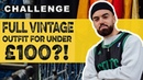 FULL OUTFIT FOR UNDER £100 ethical vegan fashion challenge