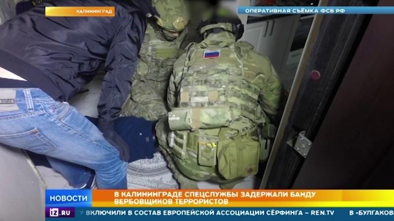 В Калининграде спецслужбы задержали банду вербовщиков террористов
