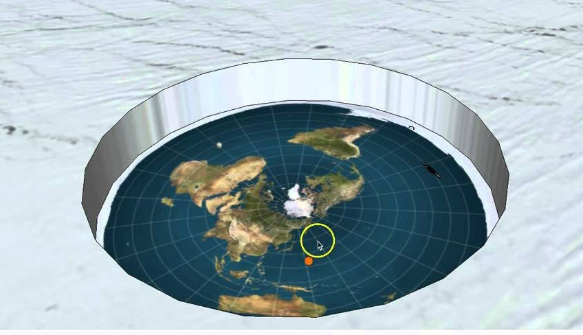 «Плоские Земляне» планируют экспедицию на «край света», чтобы доказать теорию заговора