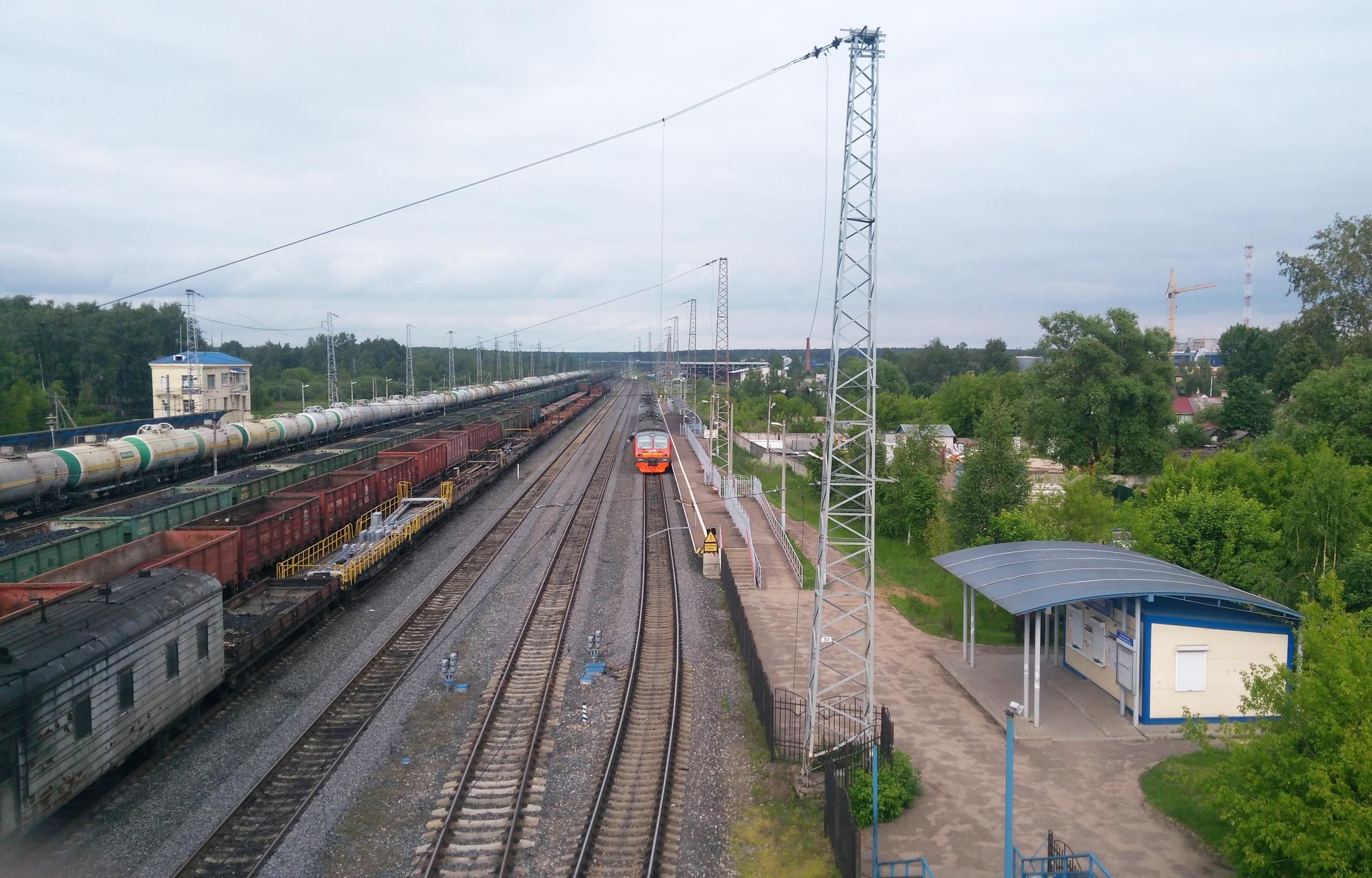 Общий вид на станцию Филино