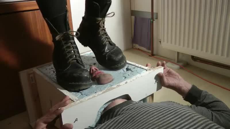 трамплинг лица туфлями - 6