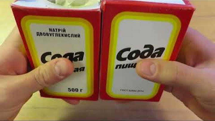 Современная Сода-Отрава! Отличие ГОСТ 2156-76 от ГОСТ 32802-2014! Геноцид Гоев Кровавой Юдвой!