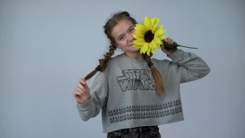 Аида , юная начинающая модель из Красноусольска . Фотостудия модельного агентства Грация