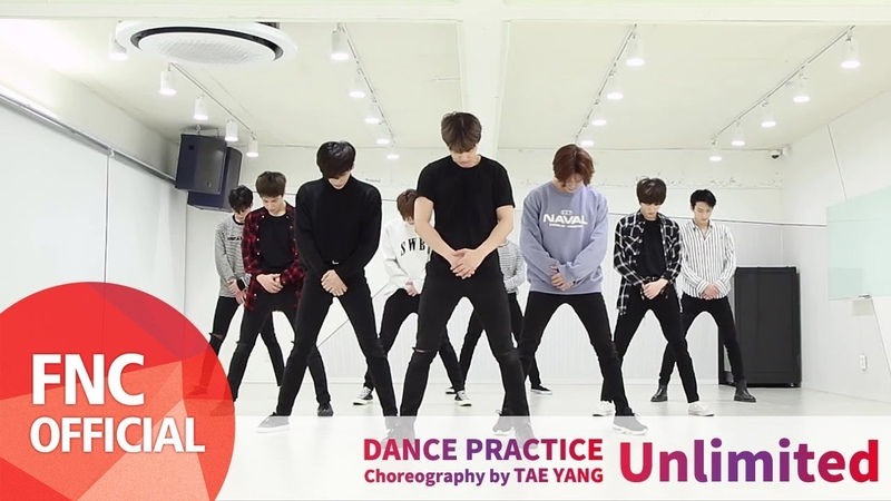 SF9 Unlimited Dance Practice Video Full ver