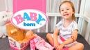 Распаковка куклы Бейби Борн BABY BORN