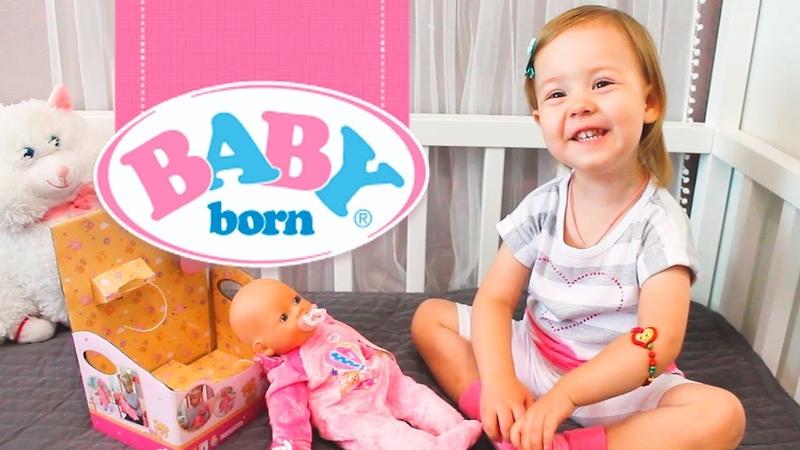 Распаковка куклы Бейби Борн (BABY BORN)