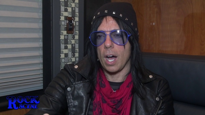 Tommy Henriksen of the Alice Cooper Band talks about his ROCK SCENE