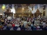 Колядка «Святий вечiр». Братский хор Святогорской Лавры. 12.01.2018