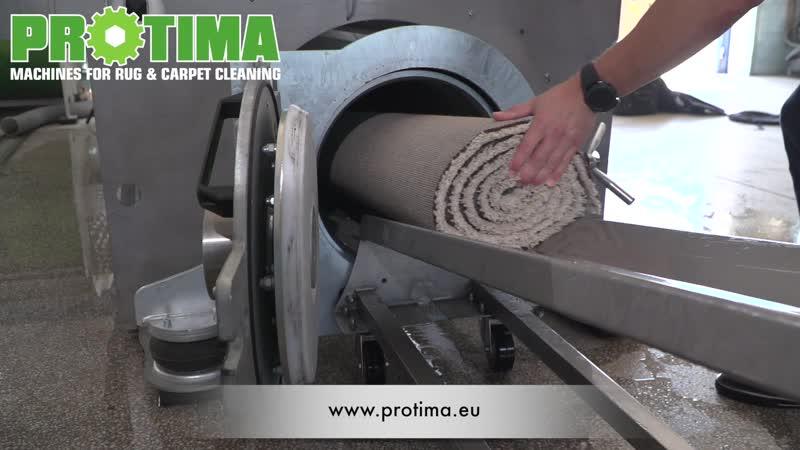 Центрифуга для отжима ковров производства Протима