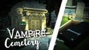 The Sims 4 Building LET'S PLAY VAMPIRE CEMETERY CRYPT