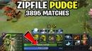 Zipfile Pudge 3895 Matches with 4700 HP Monster