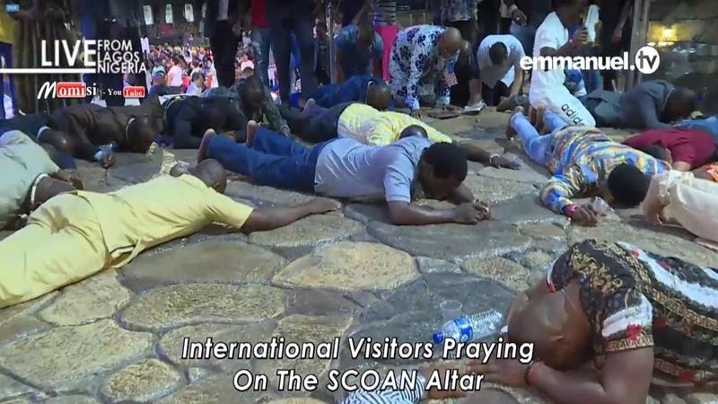 Молитвенное служение с Живой Водой у Алтаря