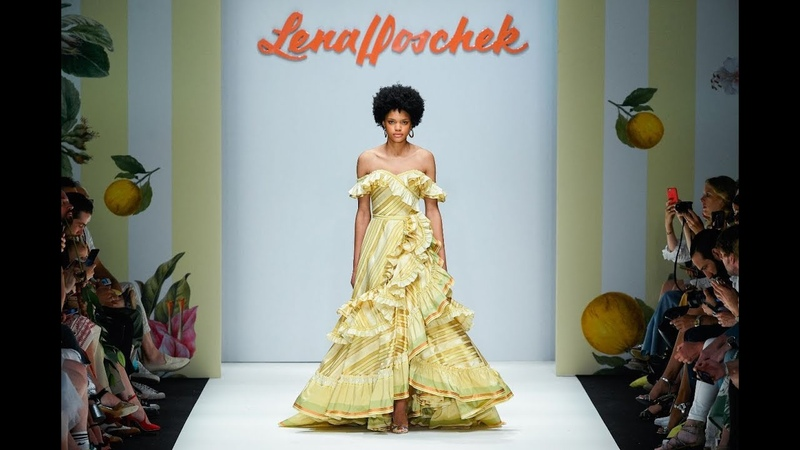 LENA HOSCHEK MERCEDES-BENZ FASHION WEEK BERLIN SS19 - Runway Show Tutti Frutti