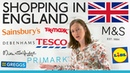 Shopping in England: Everything you need to know
