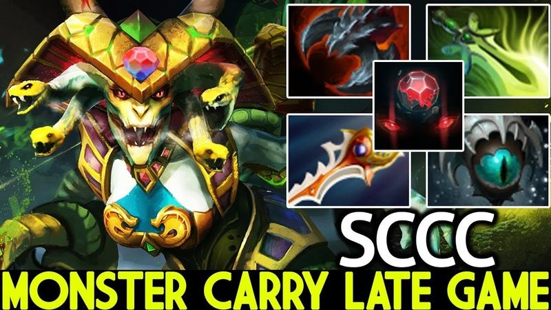 SCCC [Medusa] Monster Carry Late Game Raid Boss Rapier 7.20 Dota 2
