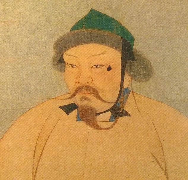 Китайский портрет Угэдэй-хана, сына Чингисхана.