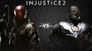 Injustice 2 - Красный Колпак против Дарксайда - Intros Clashes rus