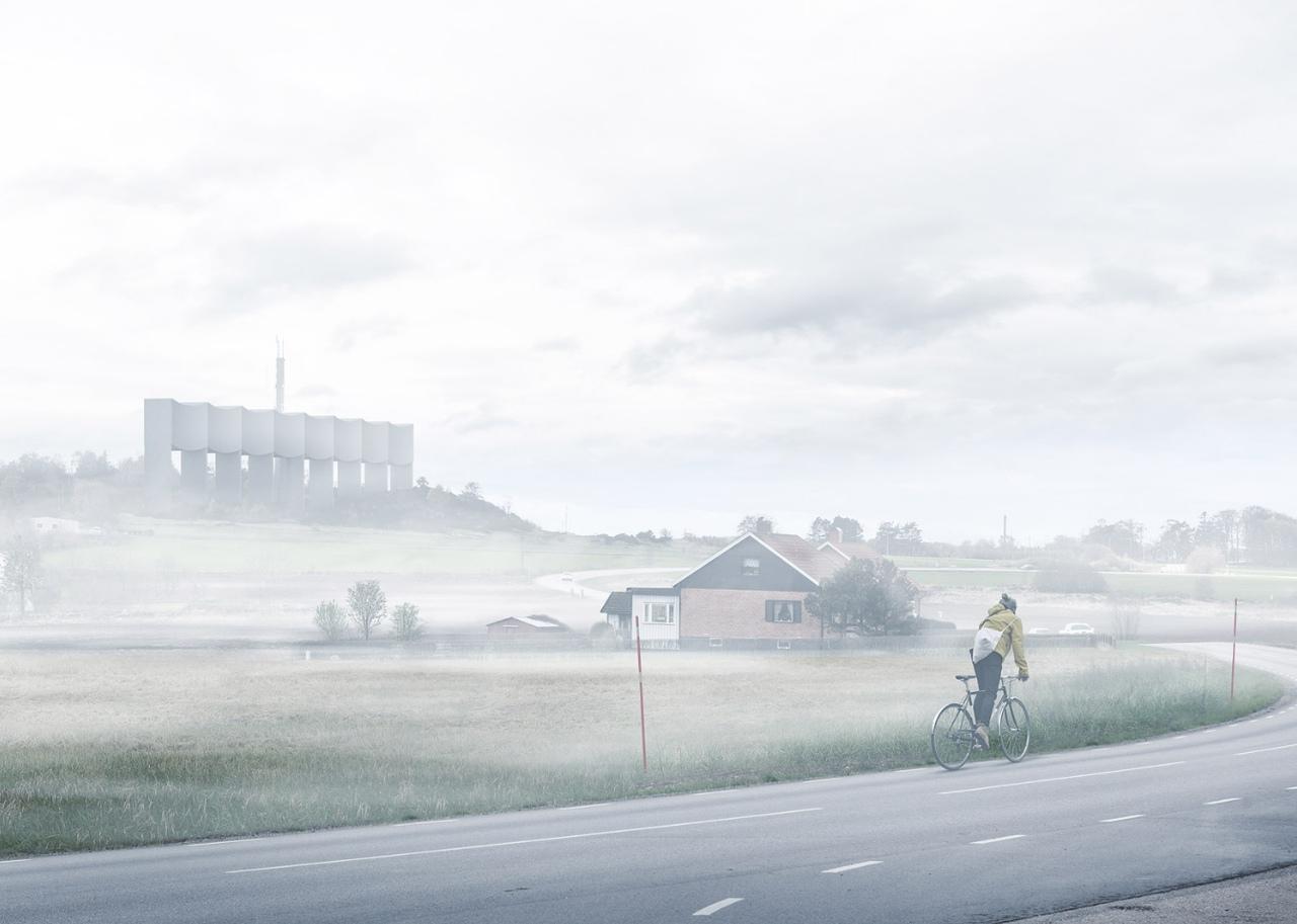 В Варберге (Швеция) появится необычная водонапорная башня