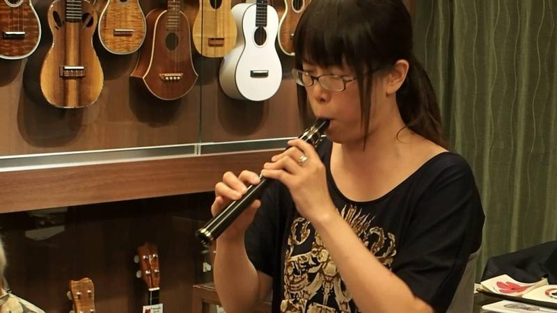 Michi-san Plays Charade on Xaphoon @ Ukulele Mania, 2106/07/23