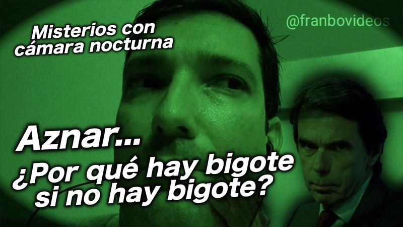 ¿Por qué parece que Aznar tiene bigote sin tenerlo?