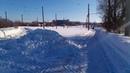 Трамвайные пути в Поливановке исчезли под кучей снега