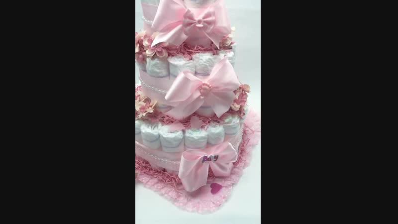 Baby cake для девочки 💕