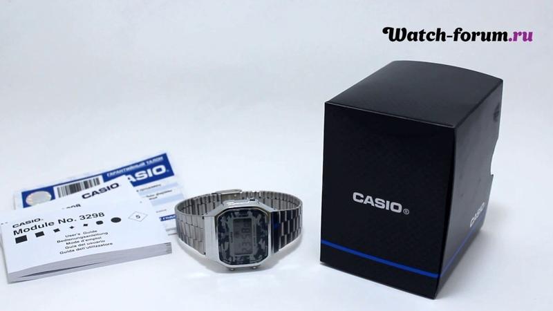 Casio Illuminator A168WEC-3D - обзор | Часовой форум Watch-Forum.ru