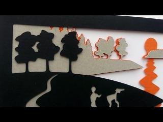 3D открытка Петроглифы