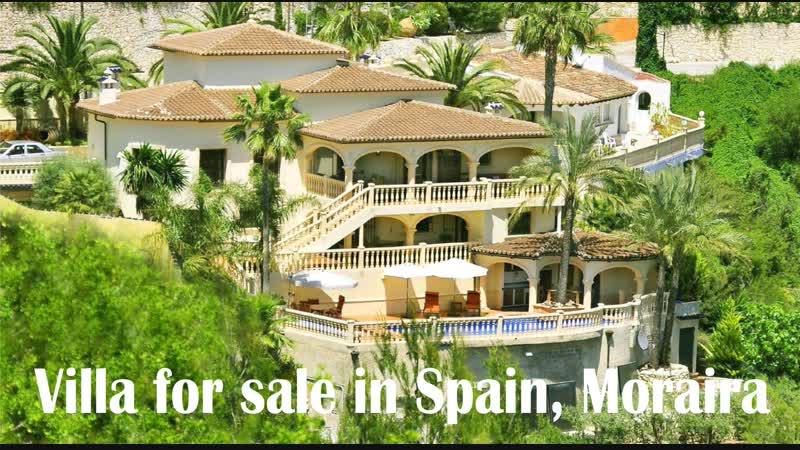 Роскошная вилла c панорамным видом на море в Испании, Морайра