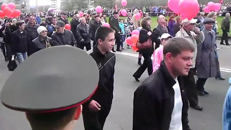 День Победы в Комсомольске-на-Амуре (09.05.2012)