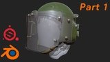 моделирование военного шлема ЗШ-1-2 в Blender (part 1)