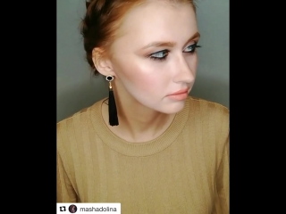 Вечерний makeup с пигментами