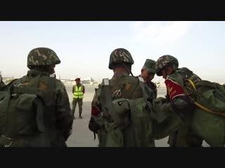 Высадка десанта и штурм здания на российско-египетских учениях