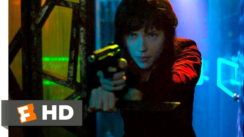 Ghost in the Shell (2017) - Strip Club Shootout Scene (410) | Movieclips