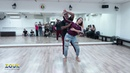 Val Clemente Vanessa Bonilha, ZoukRUSH Nov 2018 at Zouk Dance Academy - Sun post-workshop improv