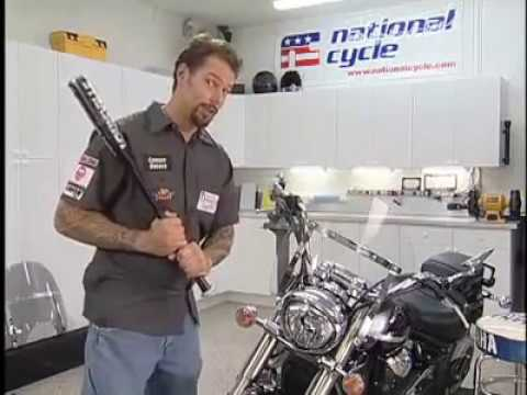 How to Install a SwitchBlade Motorcycle Windshield