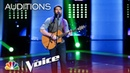 Adam Blake Wowed by Keith Paluso Singing Way Down We Go - The Voice 2018 Blind Auditions