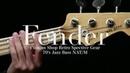 【Qsic】Fender Custom Shop Retro Spective Gear 70's Jazz Bass NAT/M【売約済】