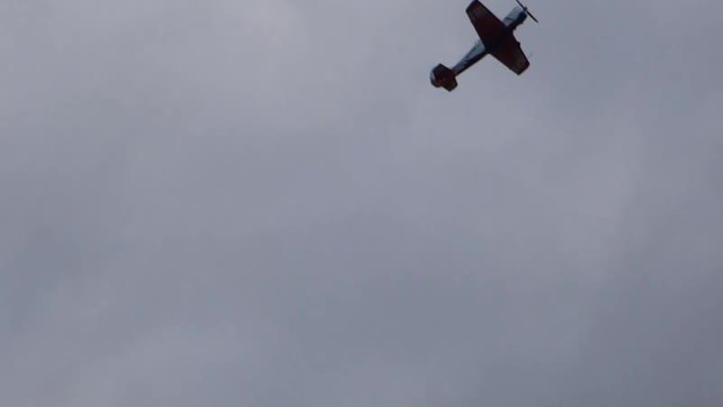 Высший пилотаж на аэродроме Кучаны