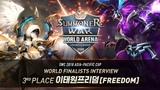 [KR] SWC 아시아퍼시픽컵 3위 인터뷰 (이태원프리덤) | Summoners War | 서머너즈워